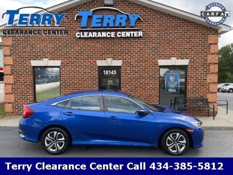 2018 Honda Civic for sale at Terry Clearance Center in Lynchburg VA