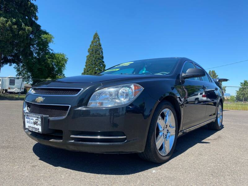 2009 Chevrolet Malibu for sale at Pacific Auto LLC in Woodburn OR