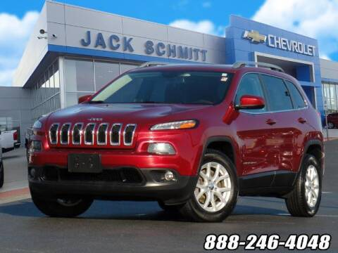 2016 Jeep Cherokee for sale at Jack Schmitt Chevrolet Wood River in Wood River IL