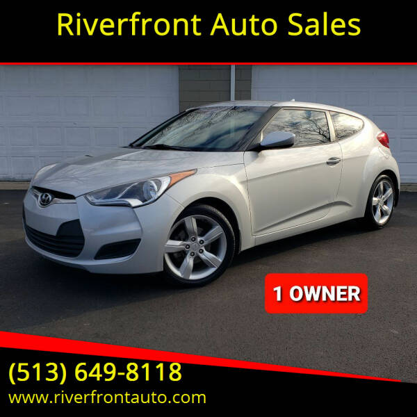 2013 Hyundai Veloster for sale at Riverfront Auto Sales in Middletown OH