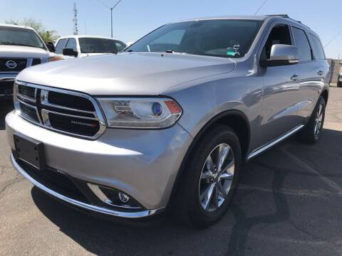 2015 Dodge Durango for sale at Town and Country Motors in Mesa AZ