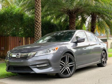 2017 Honda Accord for sale at HIGH PERFORMANCE MOTORS in Hollywood FL