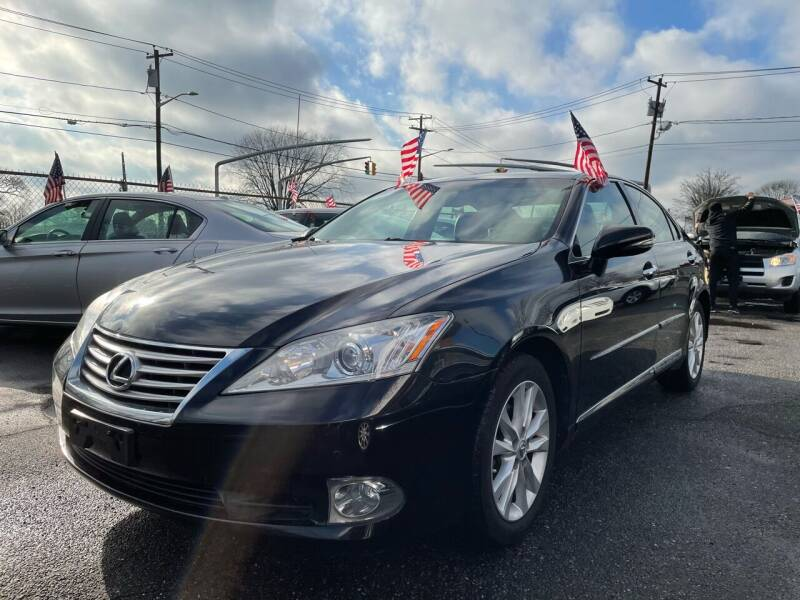 2011 Lexus ES 350 for sale at American Best Auto Sales in Uniondale NY
