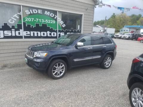 2012 Jeep Grand Cherokee for sale at CITY SIDE MOTORS in Auburn ME