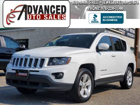 2015 Jeep Compass for sale at Advanced Auto Sales in Tewksbury MA