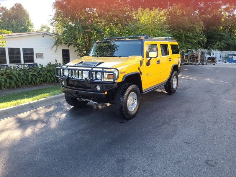 2003 HUMMER H2 for sale at TR MOTORS in Gastonia NC