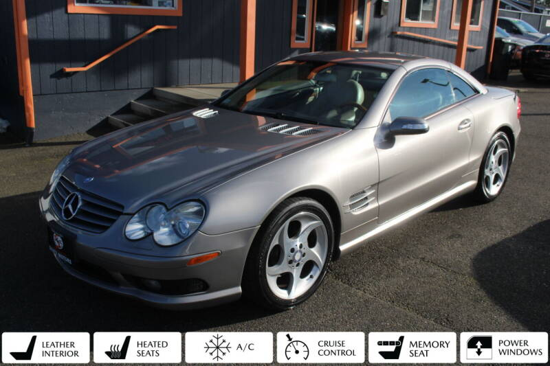 2005 Mercedes-Benz SL-Class for sale at Sabeti Motors in Tacoma WA