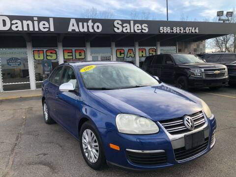 2008 Volkswagen Jetta for sale at Daniel Auto Sales inc in Clinton Township MI