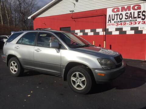 2000 Lexus RX 300 for sale at GMG AUTO SALES in Scranton PA