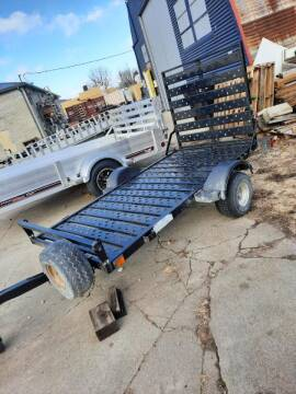 2021 USED SHORELANDER 4X8 UTILITY for sale at ALL STAR TRAILERS Used in , NE