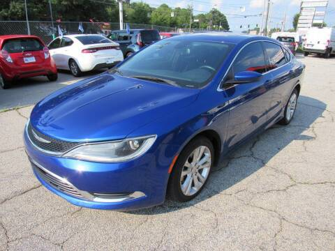 2015 Chrysler 200 for sale at King of Auto in Stone Mountain GA