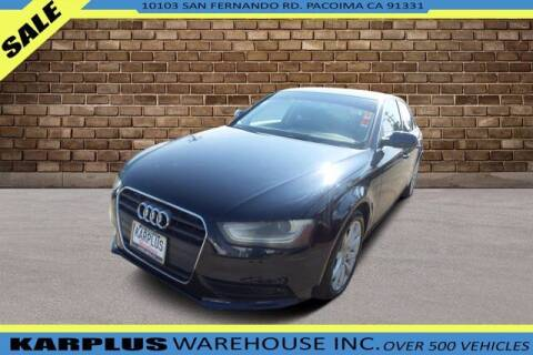 2013 Audi A4 for sale at Karplus Warehouse in Pacoima CA