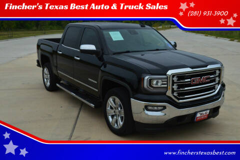 2016 GMC Sierra 1500 for sale at Fincher's Texas Best Auto & Truck Sales in Tomball TX