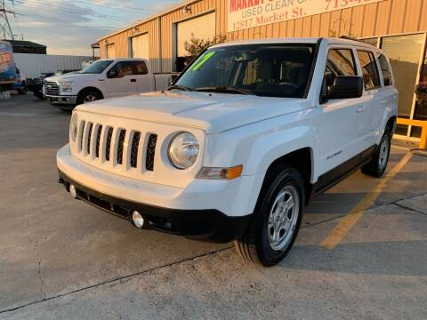 2017 Jeep Patriot for sale at Market Street Auto Sales INC in Houston TX