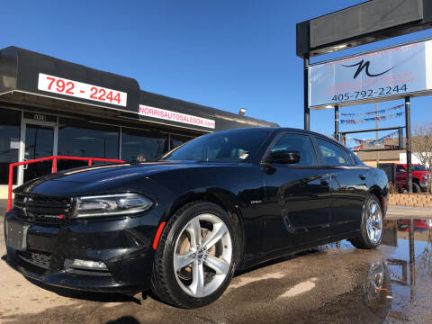 2016 Dodge Charger for sale at NORRIS AUTO SALES in Oklahoma City OK