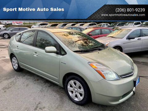 2007 Toyota Prius for sale at Sport Motive Auto Sales in Seattle WA
