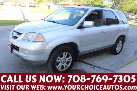 2006 Acura MDX for sale at Your Choice Autos in Posen IL