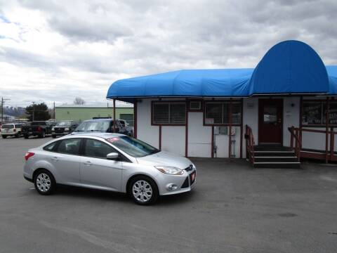 2012 Ford Focus for sale at Jim's Cars by Priced-Rite Auto Sales in Missoula MT