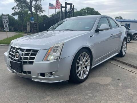 2013 Cadillac CTS for sale at Newsed Auto in Houston TX