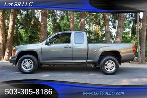 2011 GMC Canyon for sale at LOT 99 LLC in Milwaukie OR