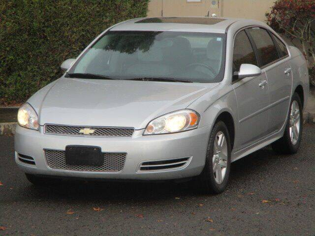 2012 Chevrolet Impala for sale at Select Cars & Trucks Inc in Hubbard OR