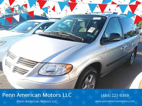 2006 Dodge Caravan for sale at Penn American Motors LLC in Allentown PA