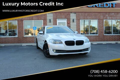 2015 BMW 5 Series for sale at Luxury Motors Credit Inc in Bridgeview IL