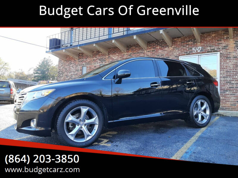 2009 Toyota Venza for sale at Budget Cars Of Greenville in Greenville SC