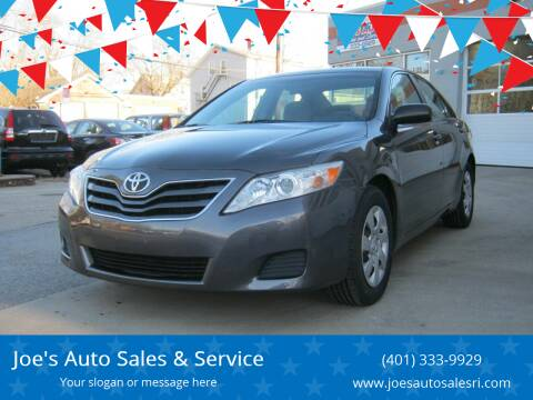 2011 Toyota Camry for sale at Joe's Auto Sales & Service in Cumberland RI