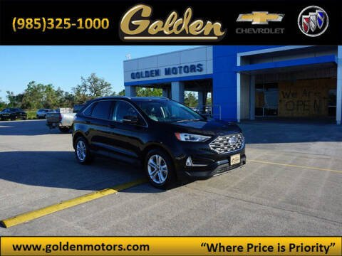 2020 Ford Edge for sale at GOLDEN MOTORS in Cut Off LA
