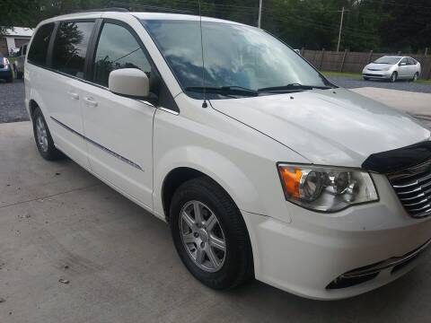 2011 Chrysler Town and Country for sale at John's Auto Sales & Service Inc in Waterloo NY