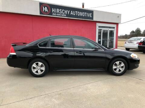 2011 Chevrolet Impala for sale at Hirschy Automotive in Fort Wayne IN