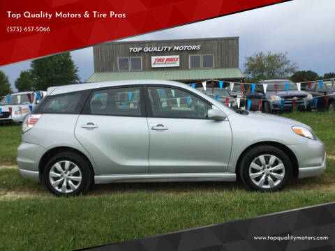 2007 Toyota Matrix for sale at Top Quality Motors & Tire Pros in Ashland MO