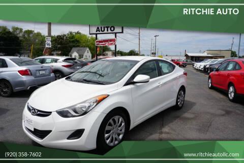 2012 Hyundai Elantra for sale at Ritchie Auto in Appleton WI