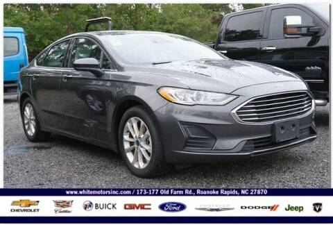 2020 Ford Fusion for sale at WHITE MOTORS INC in Roanoke Rapids NC