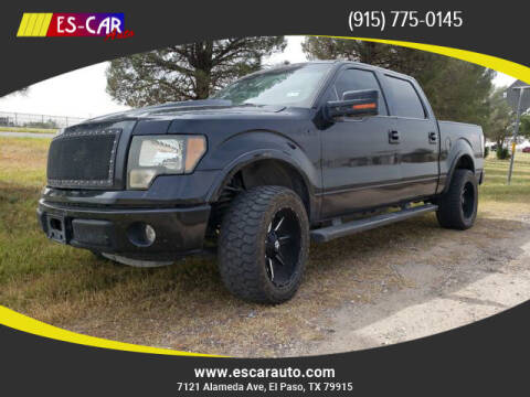 2013 Ford F-150 for sale at Escar Auto - 9809 Montana Ave Lot in El Paso TX