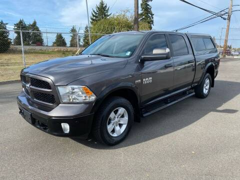 2016 RAM Ram Pickup 1500 for sale at Vista Auto Sales in Lakewood WA