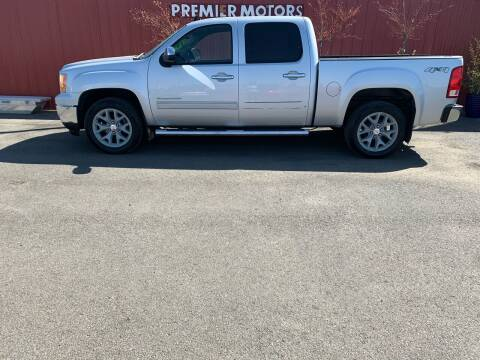 2013 GMC Sierra 1500 for sale at PREMIERMOTORS  INC. in Milton Freewater OR