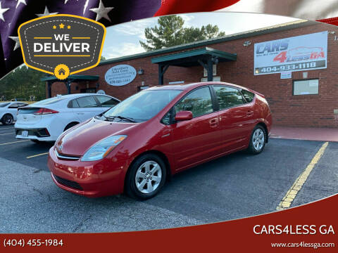 2007 Toyota Prius for sale at Cars4Less GA in Alpharetta GA