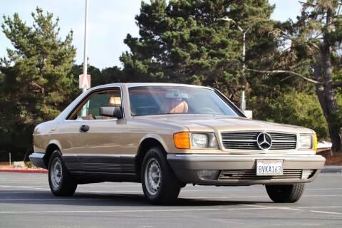 1984 Mercedes-Benz 500-Class for sale at Dodi Auto Sales in Monterey CA