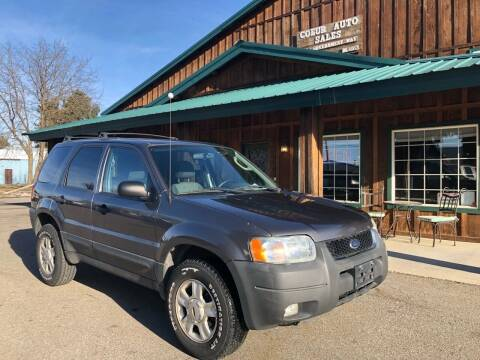2004 Ford Escape for sale at Coeur Auto Sales in Hayden ID