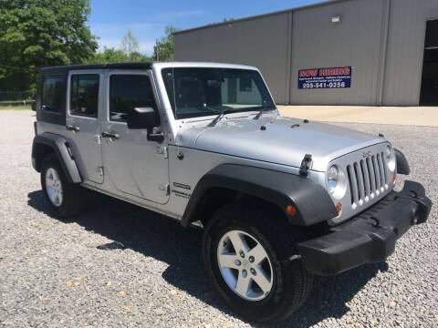 2010 Jeep Wrangler Unlimited for sale at Anaheim Auto Auction in Irondale AL