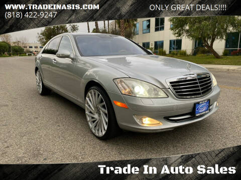 2009 Mercedes-Benz S-Class for sale at Trade In Auto Sales in Van Nuys CA