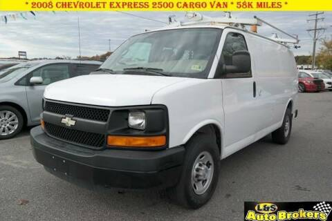 2008 Chevrolet Express Cargo for sale at L & S AUTO BROKERS in Fredericksburg VA