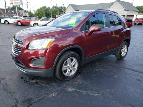 2016 Chevrolet Trax for sale at STRUTHER'S AUTO MALL in Austintown OH