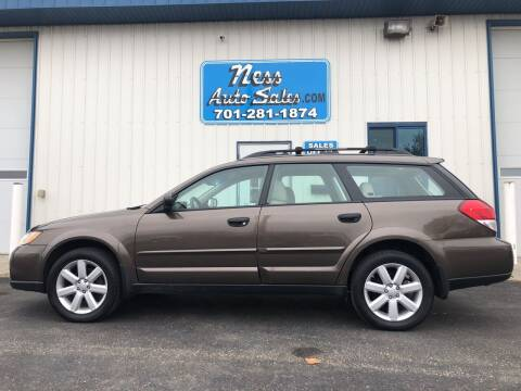 2008 Subaru Outback for sale at NESS AUTO SALES in West Fargo ND