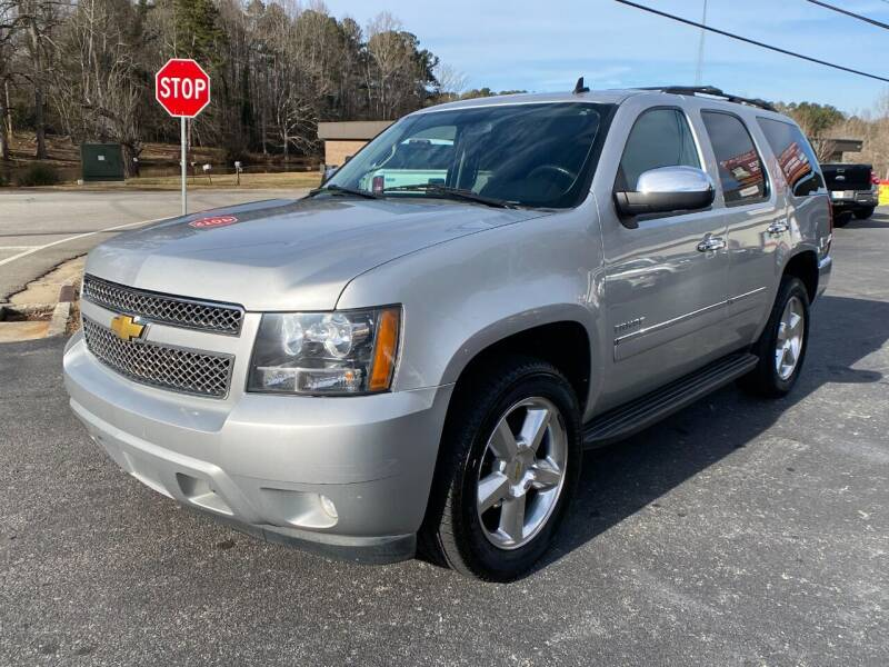 2013 Chevrolet Tahoe for sale at Luxury Auto Innovations in Flowery Branch GA