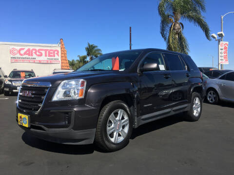 2016 GMC Terrain for sale at CARSTER in Huntington Beach CA