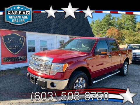 2013 Ford F-150 for sale at J & E AUTOMALL in Pelham NH