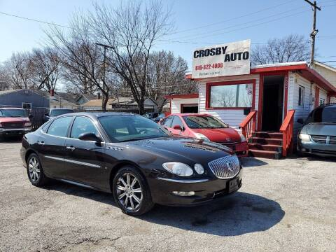2008 Buick LaCrosse for sale at Crosby Auto LLC in Kansas City MO